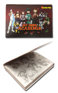 My Hero Academia Sticky Memo Pad - Group Hero