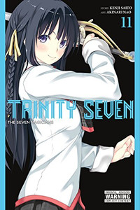 Trinity Seven Graphic Novel 11