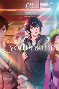 your name. Graphic Novel 02