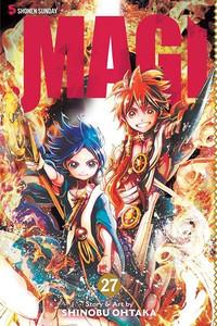 Magi The Labyrinth of Magic Graphic Novel Vol. 27