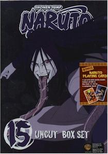 Naruto Uncut DVD Box Set 15 (Used)