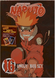 Naruto Uncut DVD Box Set 16 (Used)