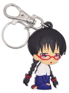 Soul Eater Not! PVC Keychain - SD Eternal Feather