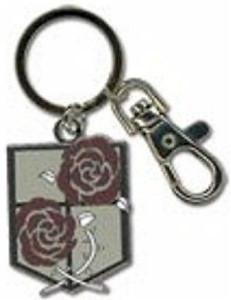 Attack on Titan Metal Keychain - Garrison Regiment