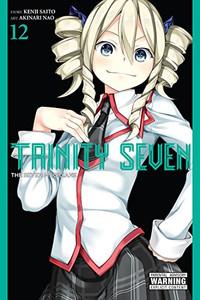 Trinity Seven Graphic Novel 12