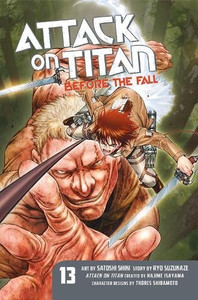 Attack on Titan: Before the Fall Graphic Novel 13