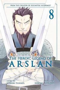Heroic Legend of Arslan Graphic Novel 08