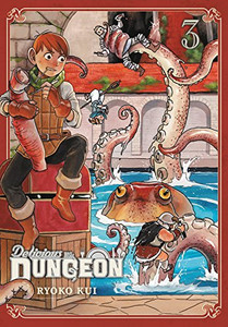 Delicious in Dungeon Manga 03