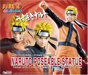 Naruto Shippuden 1/6 Statue - Naruto Uzumaki (Gecco)