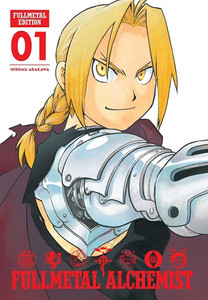 Fullmetal Alchemist: Fullmetal Edition Vol. 01 (HC)