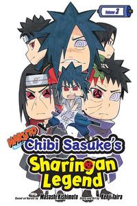 Naruto: Chibi Sasuke's Sharingan Legend Graphic Novel Vol. 3