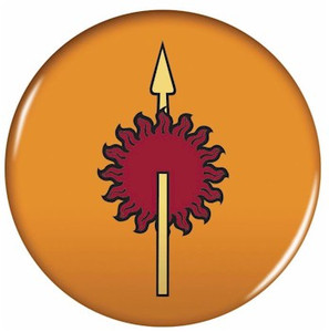 Game of Thrones Button Pin - Martell