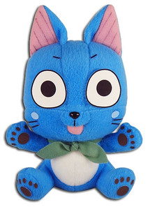 Fairy Tail Plush Doll - Happy 5""