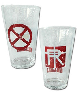 Kill la Kill Pint Glasses Set - Nudist Beach & Revocs Set