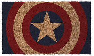 Marvel Heroes Door Mat - Captain American Shield