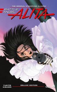 Battle Angel Alita Delux Edition Vol. 4 (Hardcover)