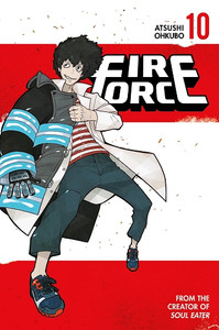Fire Force Graphic Novel 10