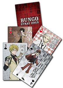 Bungo Stray Dogs Playing Cards