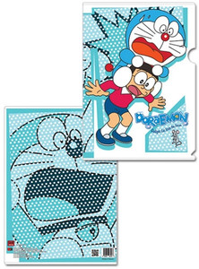 Doraemon File Folder - Doraemon & Nobi Mouse Scare