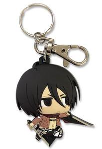 Attack on Titan Keychain - S2 SD Mikasa