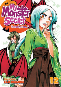 "My Monster Secret ""Actually I Am"" Graphic Novel 12"