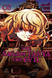 Saga of Tanya the Evil Graphic Novel 03