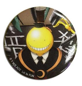 Assassination Classroom Button Pin - Koro Sensei Targeted