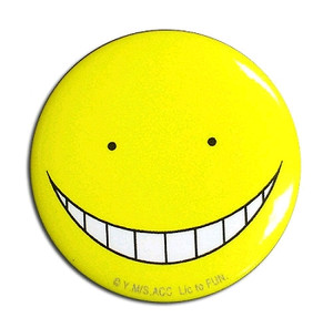 Assassination Classroom Button Pin - Koro Sensei