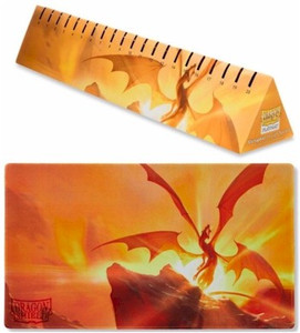 Dragon Shield Playmat with Coin - Matte Yellow