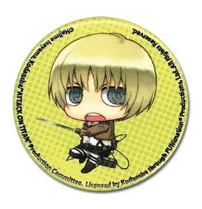 Attack on Titan Button Pin - SD Armin