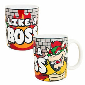 Super Mario Mug - Like a Boss Bowser 11 oz
