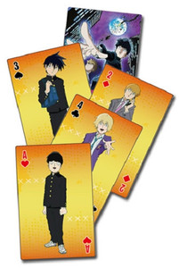 MOB Psycho 100 Playing Cards - Group