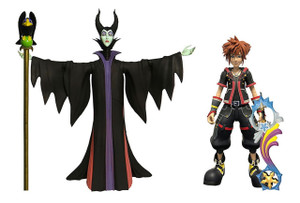 Kingdom Hearts III Select AF - Sora & Maleficent