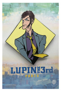 Lupin the Third Enamel Pin - Diamond Lupin
