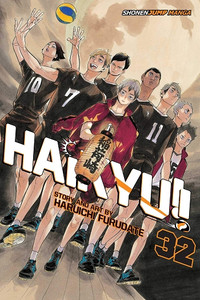 Haikyu!! Graphic Novel 32