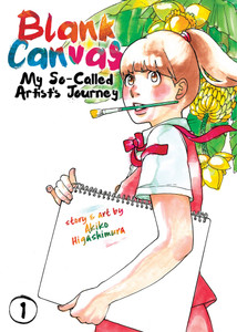 Blank Canvas My So-Called Artist's Journey Graphic Novel 01