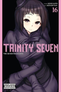 Trinity Seven Graphic Novel 16