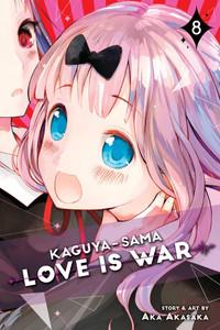 Kaguya-Sama Love Is War Graphic Novel 08