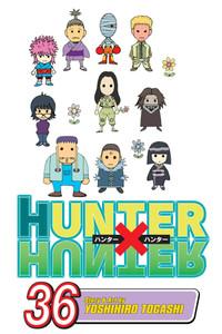 Hunter X Hunter Graphic Novel 36