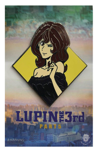 Lupin the Third Enamel Pin - Diamond Fujiko