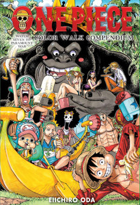 One Piece Color Walk Compendium 2: Water Seven to Paramount