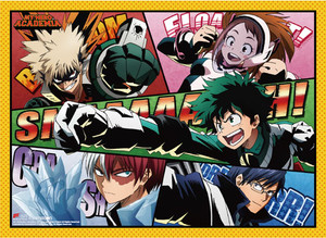 My Hero Academia Wallscroll - Group 1