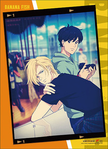 Banana Fish Wallscroll - Ash & Eiji Photo Frame