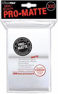 Ultra Pro Card Sleeves Standard - White 100 Count