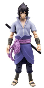 "Naruto Shippuden 4"" Poseable  AF - Sasuke"