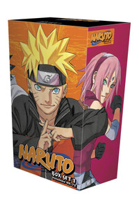 Naruto Graphic Novel Box Set (49-72)