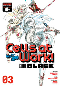 Cells at Work! CODE BLACK Graphic Novel 03