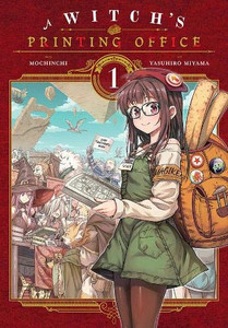 A Witch's Printing Office Manga 01