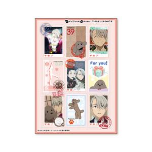 Yuri!!! On ICE Stamp Sheet Sticker Victor Nikiforov