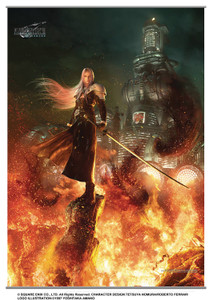Final Fantasy VII Remake Wallscroll - Sephiroth